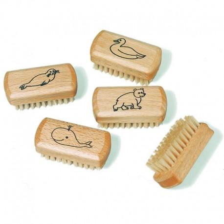Kindernagelbürste aus Holz