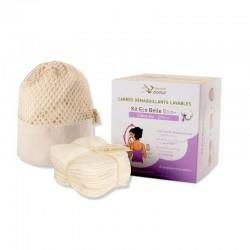Waschbare Abschminkpads SET - Bio Baumwolle